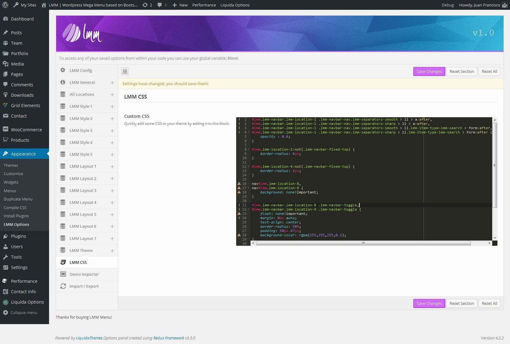 Lmm Wordpress Responsive Mega Menu Based On Bootstrap By