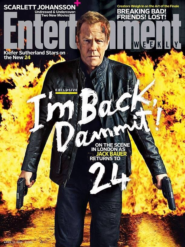 @Jack Bauer MAG COVER