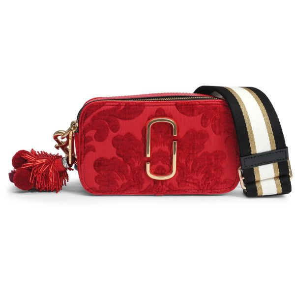 a95f62ba7e Marc Jacobs Damask Snapshot camera bag (620 CAD) ❤ liked on Polyvore  featuring accessories