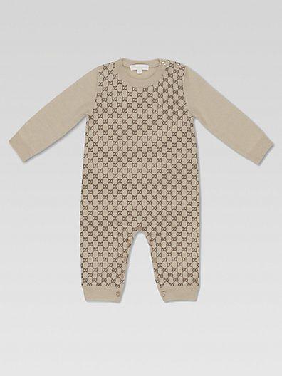 e32f1d6b338e Gucci - Infant s GG Print Sleeper - Saks.com  300