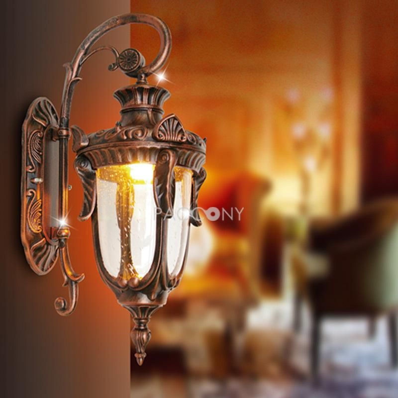 BOHEMIAN - Concise Red Bronze Euro-Styled Wall Lights with 1 Light