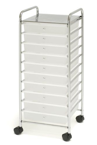 10 Best 10 Drawer Rolling Cart U2013 Mobile Organizer And Storage Cart | The  Best Of