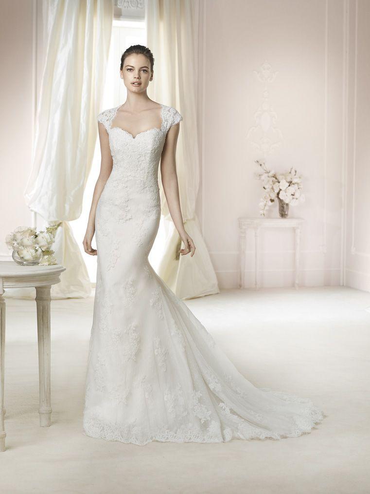 Brautkleid Janina aus der White One Brautmoden Kollektion 2015 :: bridal dress from the 2015 collection by white one.