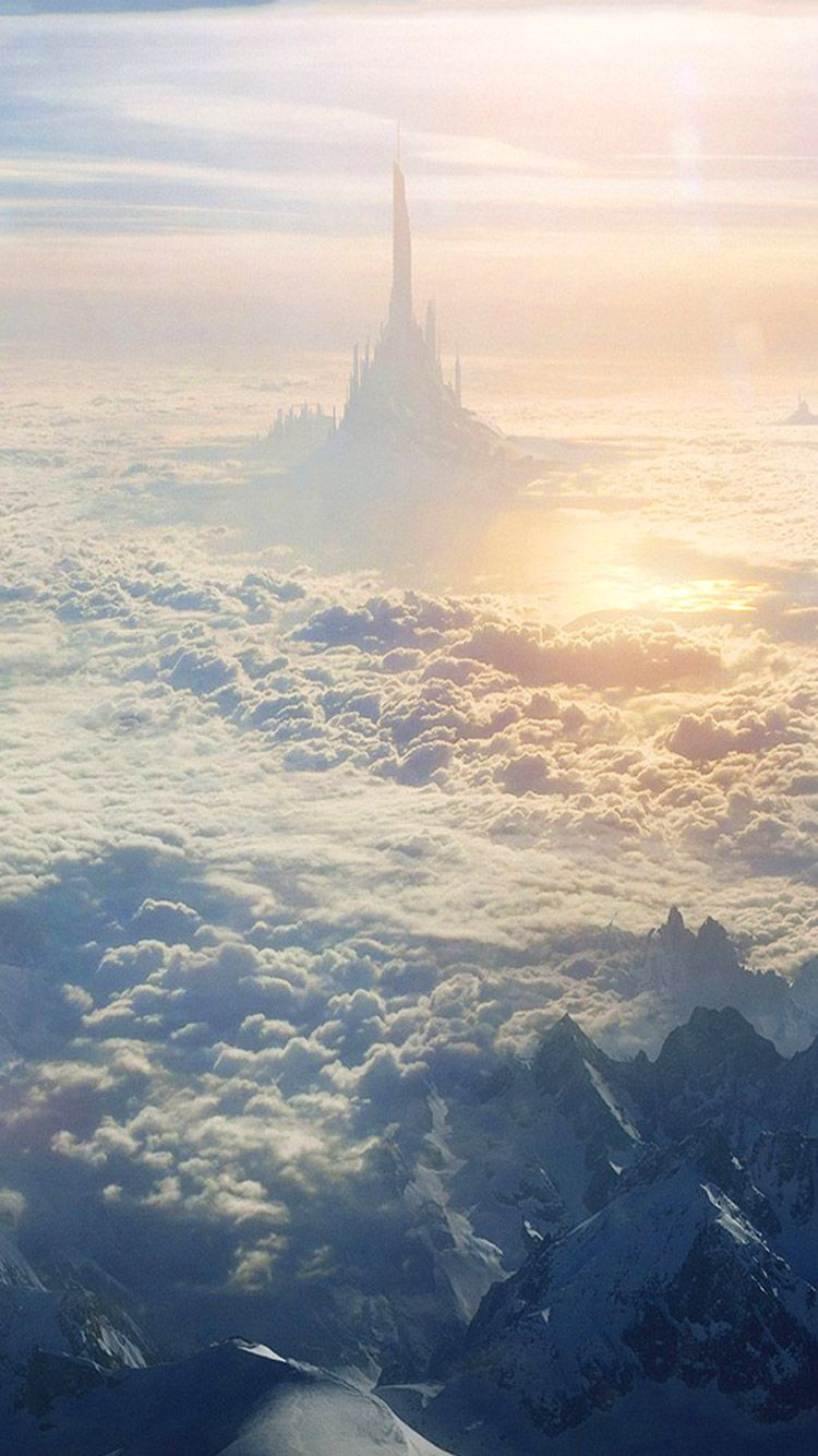 Iphone Wallpapers Art Illustration Cloud City Desktop Hd