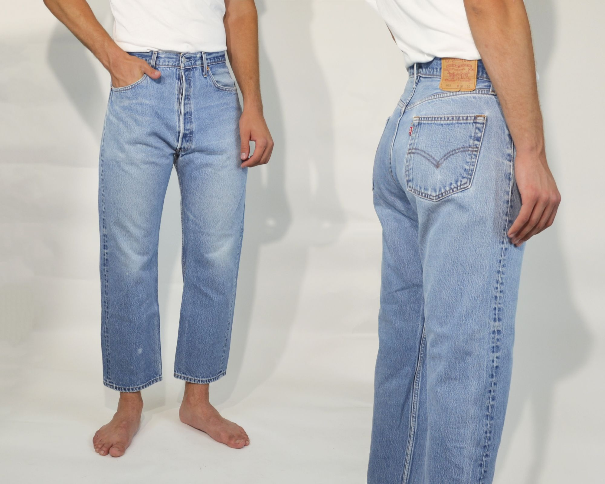 Vintage Levi S 501 Levi Jeans 501 Levi High Waisted Denim Jeans