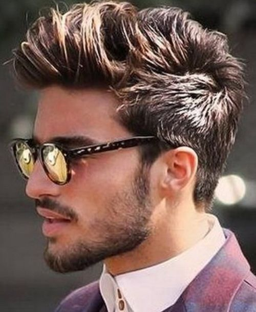 Hairstyles For Thick Hair Men Simple Mens Hairstyles 2016 For Thick Hair Ideas  Hår  Pinterest  Mens