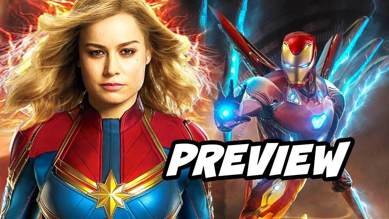 avengers 4 spinoffs - captain marvel plot teaser breakdown | marvel
