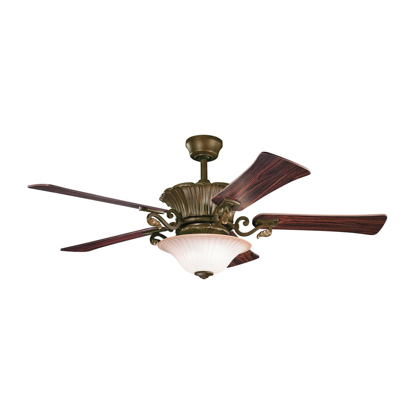 "View the Kichler Harbour Walk Patio 52"" Outdoor Ceiling Fan"