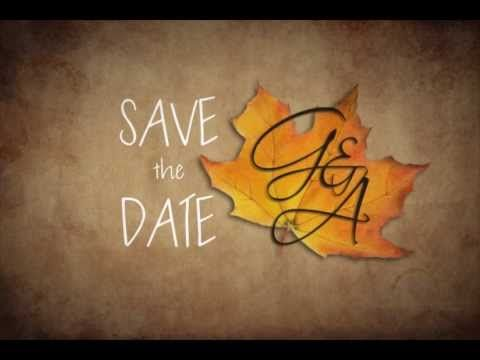 Gab & Anne save the date - Stop Motion - YouTube