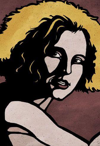 Berlin Alexanderplatz Eva Historical Figures Poster Art