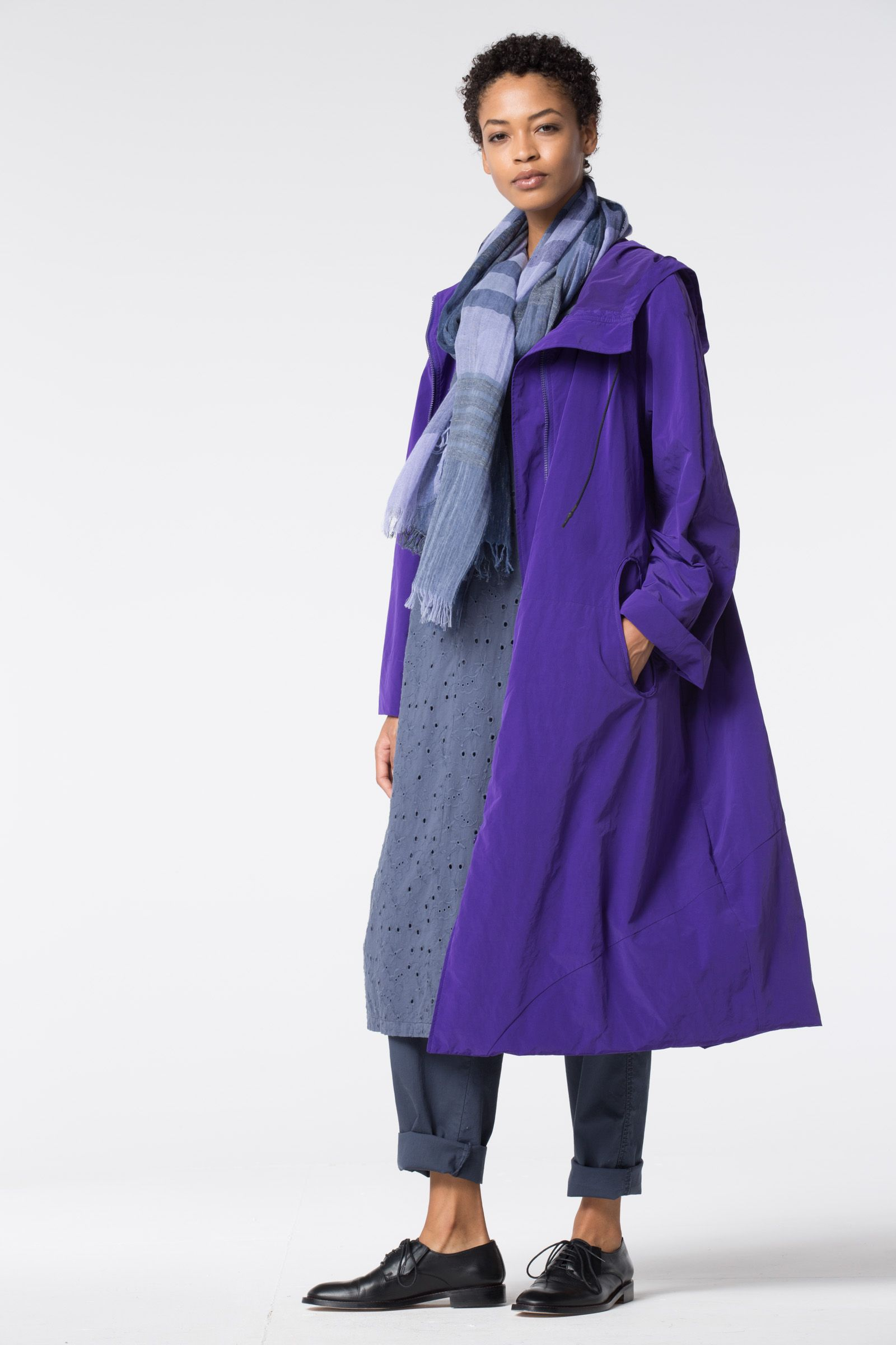 b6d275ab1 OSKA® Coat Segenta in color Iris is gorgeous, light-weight, and ...