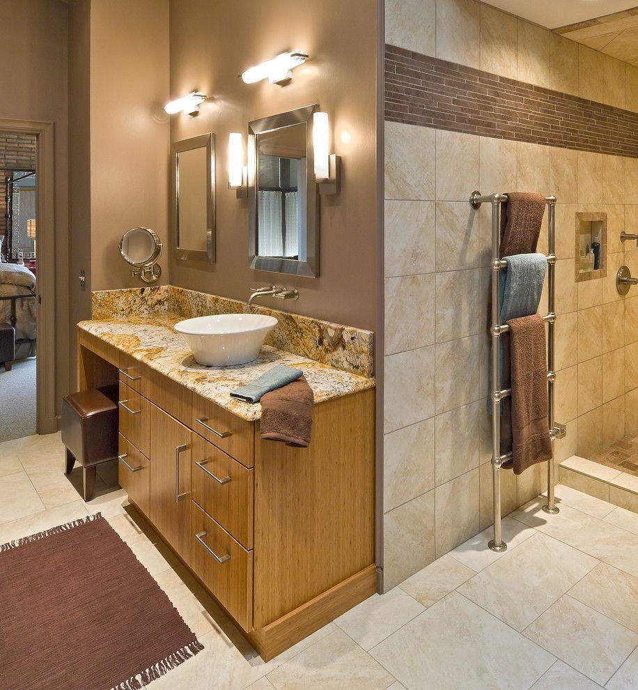 Heated towel rack bathroom modern with heated towel bar - Heated towel racks for bathrooms ...