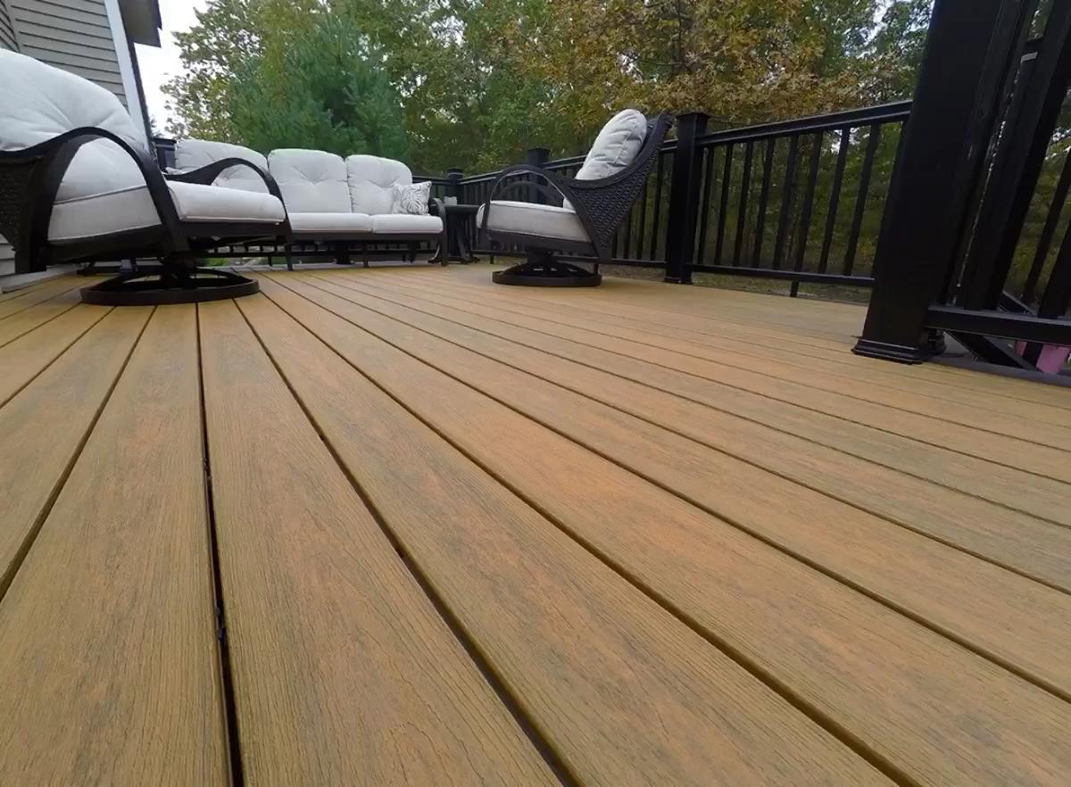 Optima Deck Backyard Ideas In 2019 Composite Decking