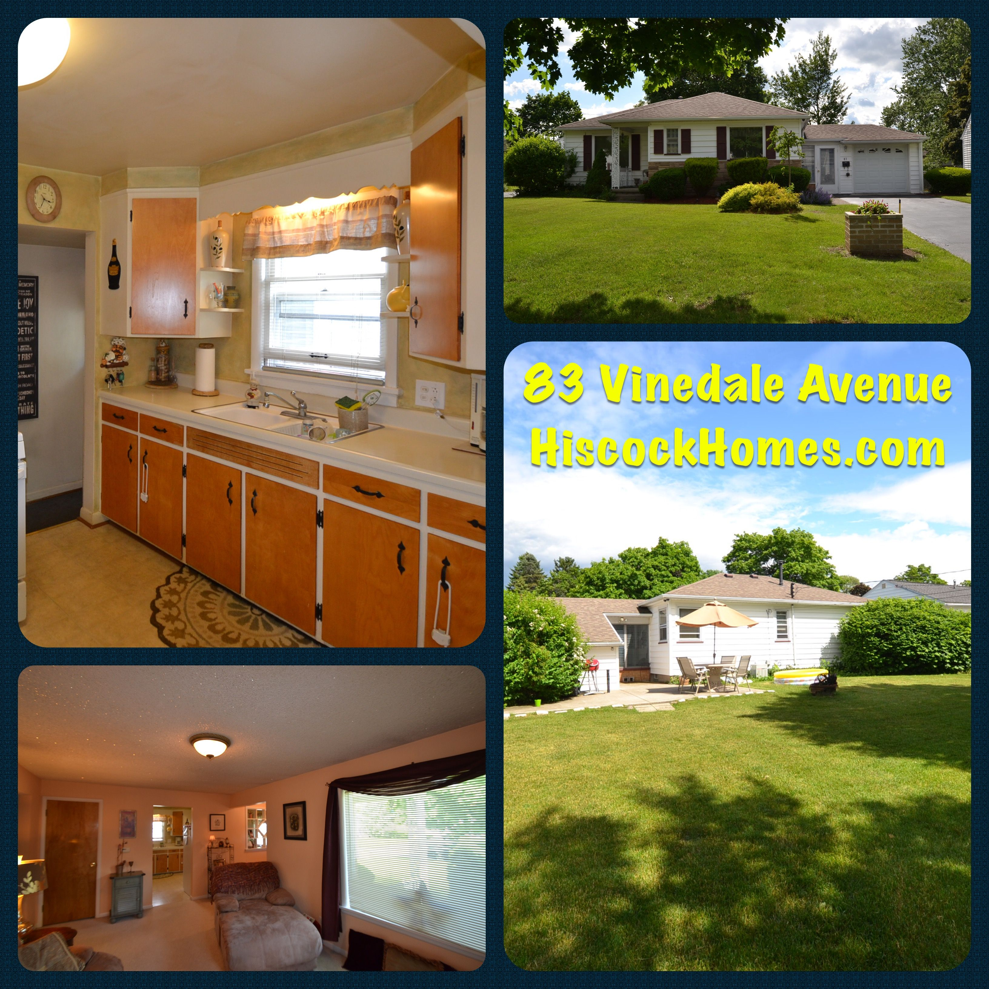 JUST LISTED! 83 Vinedale Avenue, Irondequoit, NY 14622 is ...