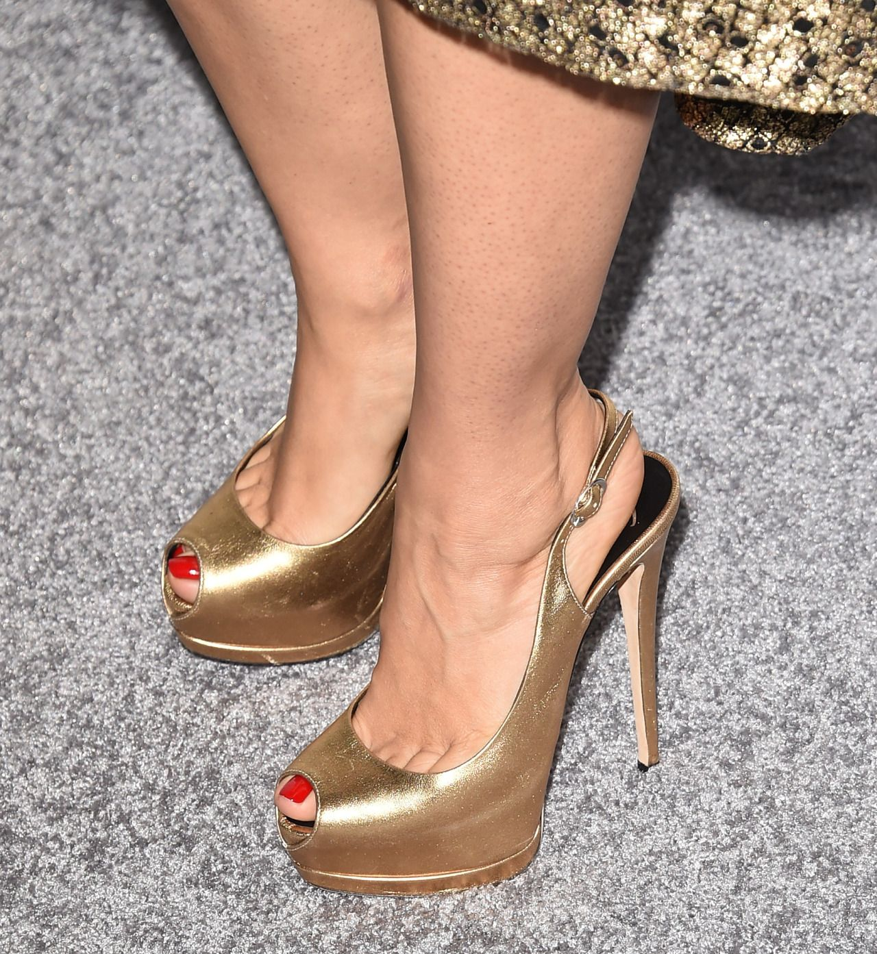 baa34c96d190d Toe Cleavage Forever : Photo | Slingbacks | Shoes, Heels, Celebrity ...