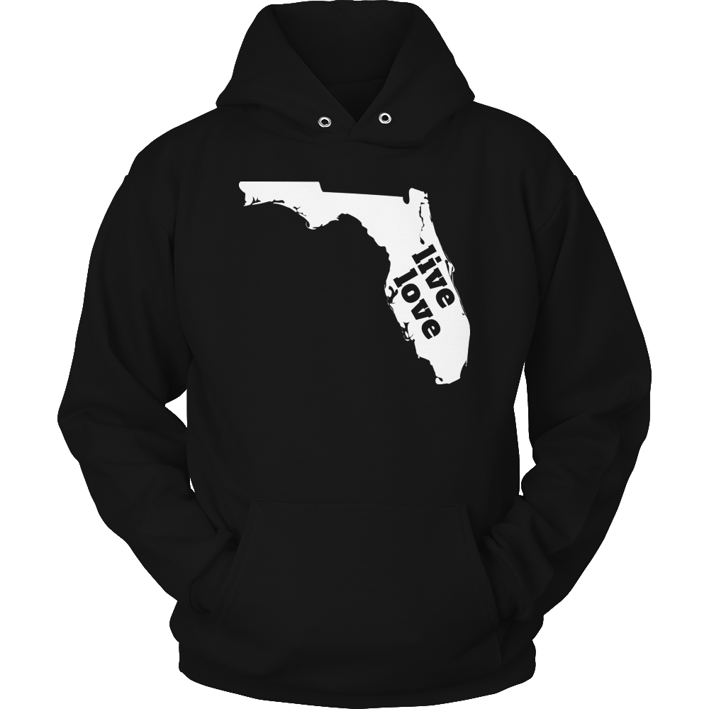 Live Love Florida - My State Shirts