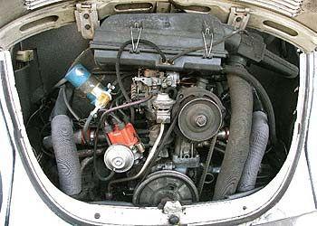 Volkswagen escarabajo 1600 ficha técnica