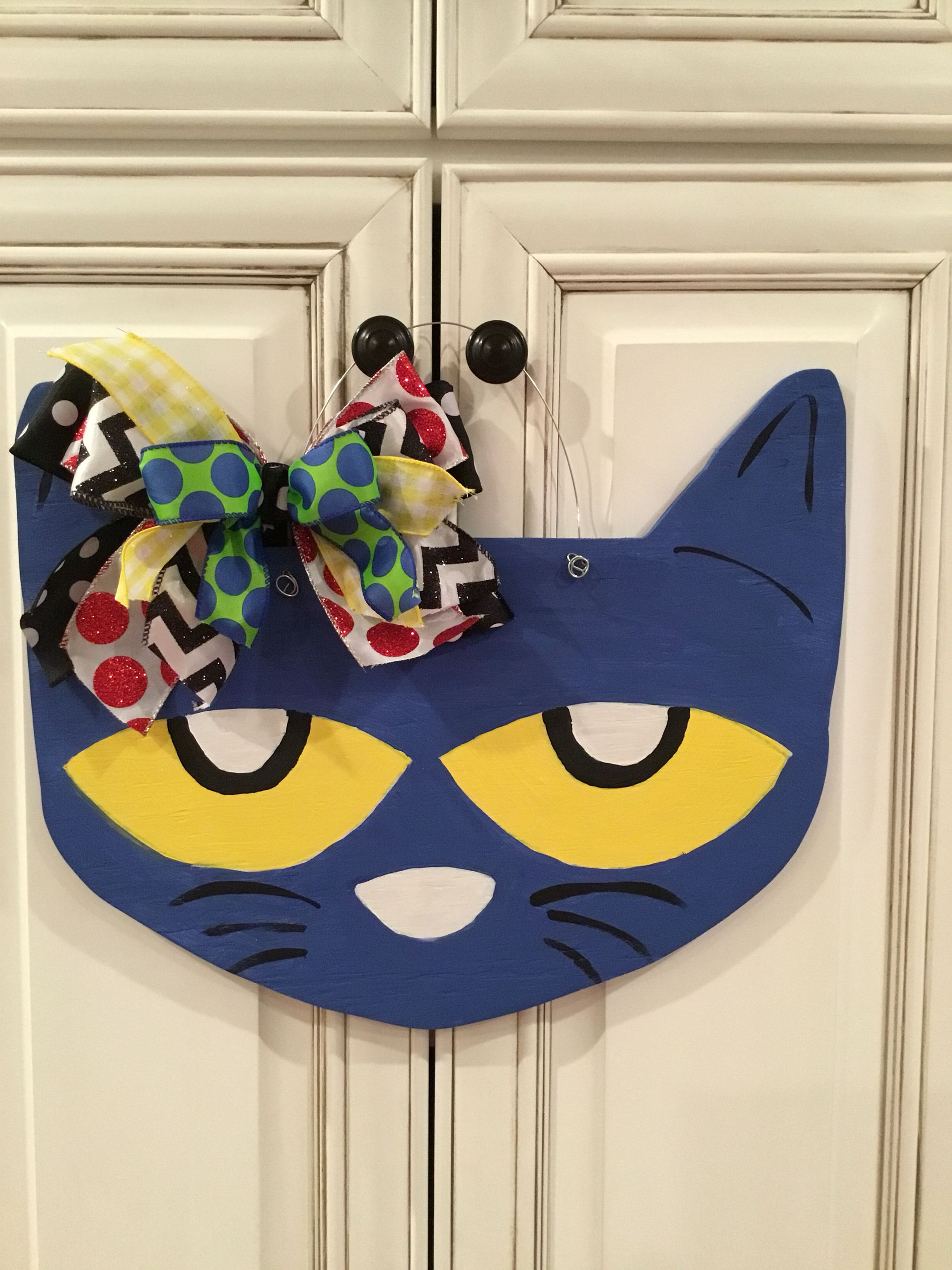 Pete The Cat Door Hanger