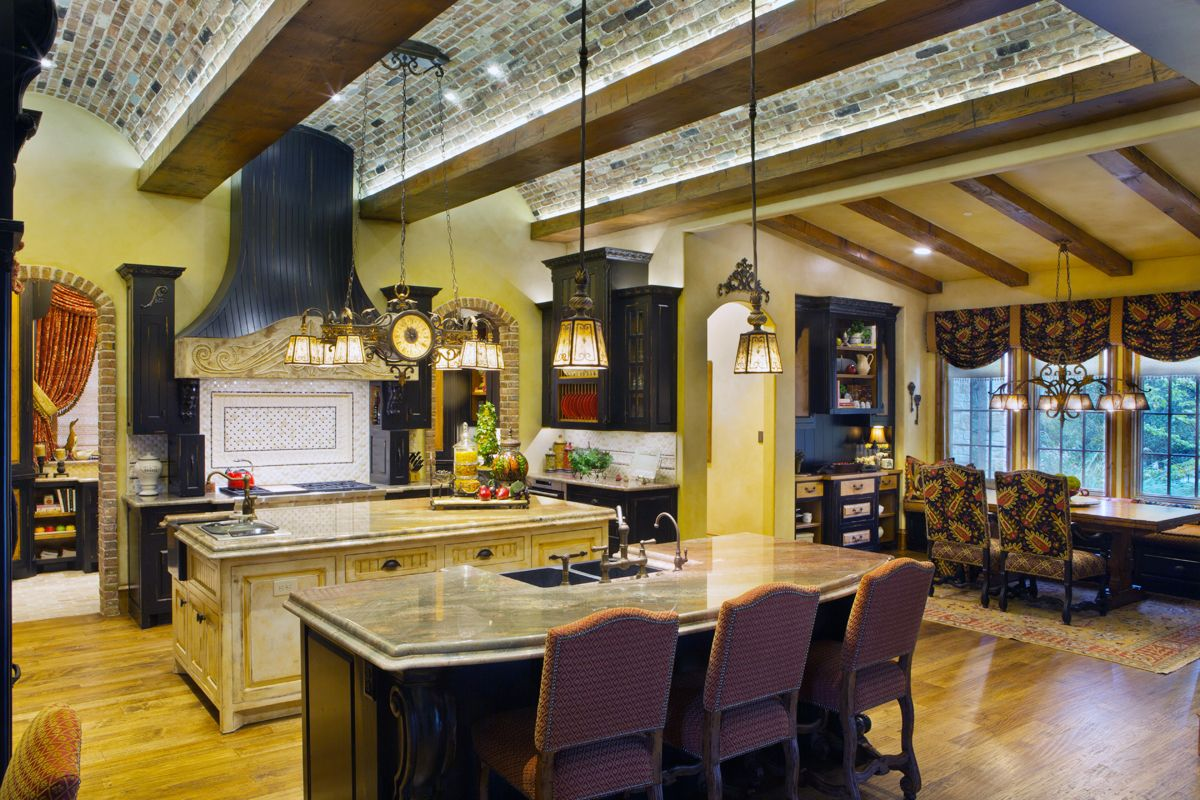 Design By Jamie Linn, Constructed By Veranda Designer Homes Living Rooms.  The Kitchen Has
