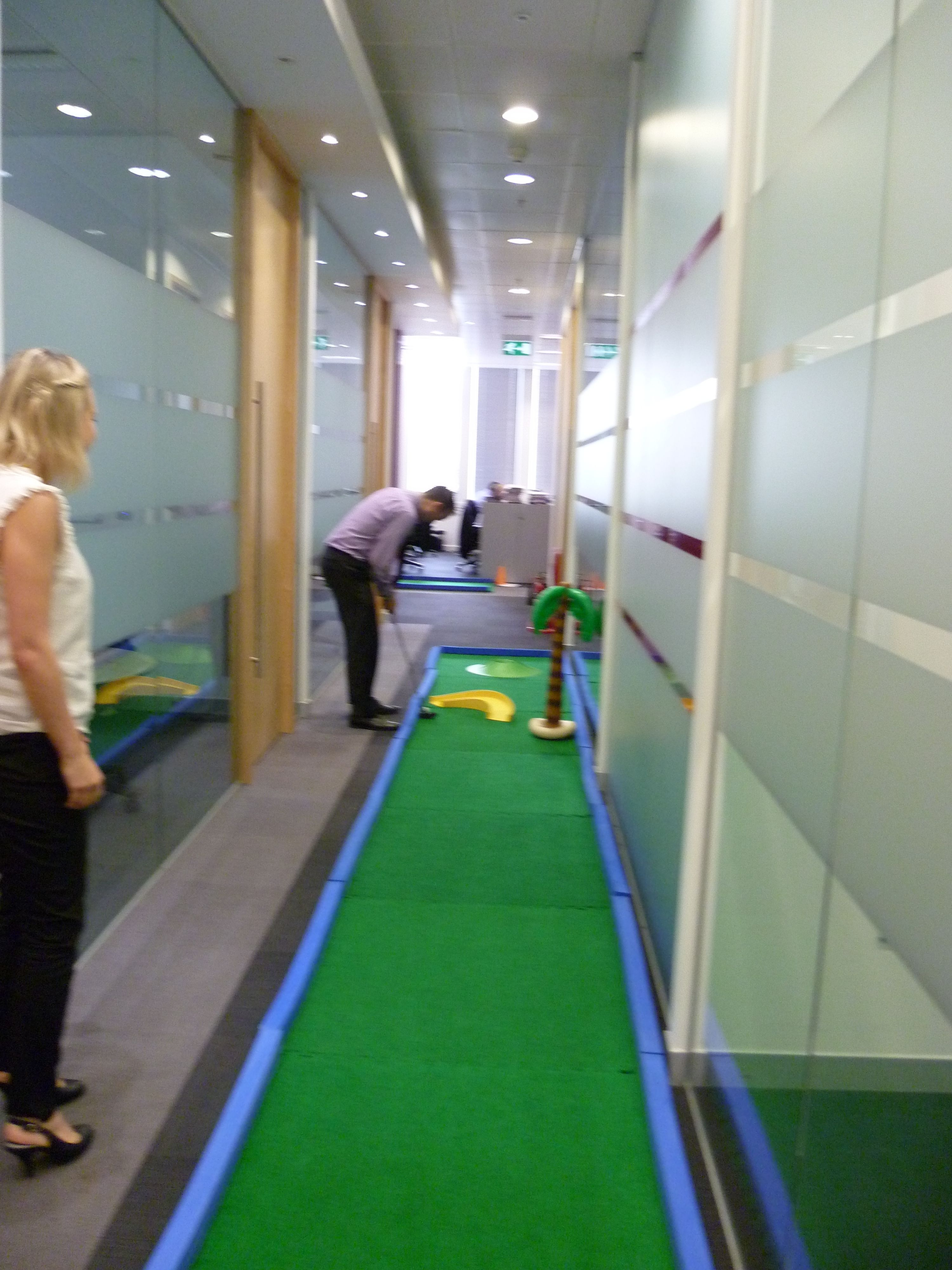 Bookmark This For Next Year S Havefunatworkday Office Crazy Golf Hire Https Putterfingers Co Uk Officegames Officeolympics Officefun Crazygolf Minig