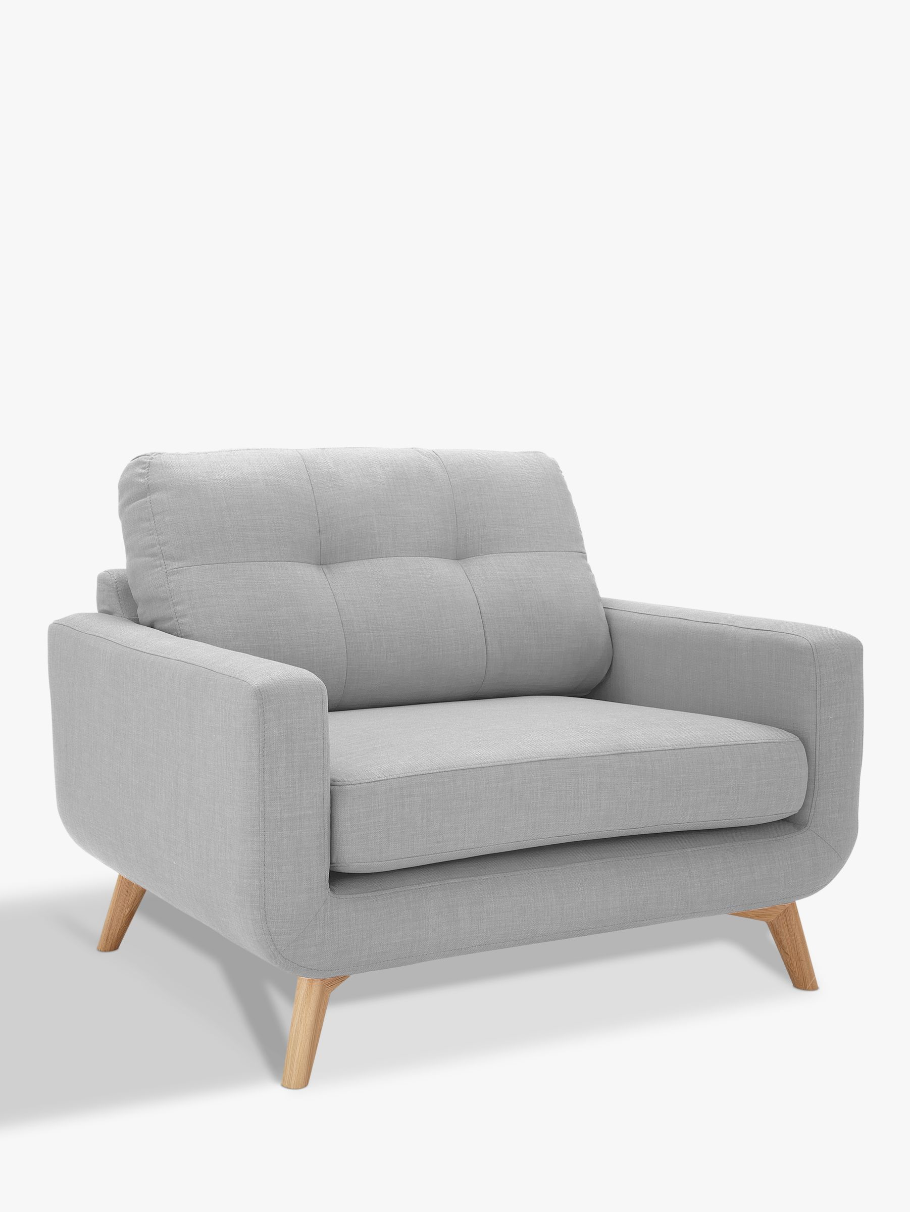 John Lewis Partners Barbican Snuggler Design Your Own Home 2 Seater Sofa Furniture