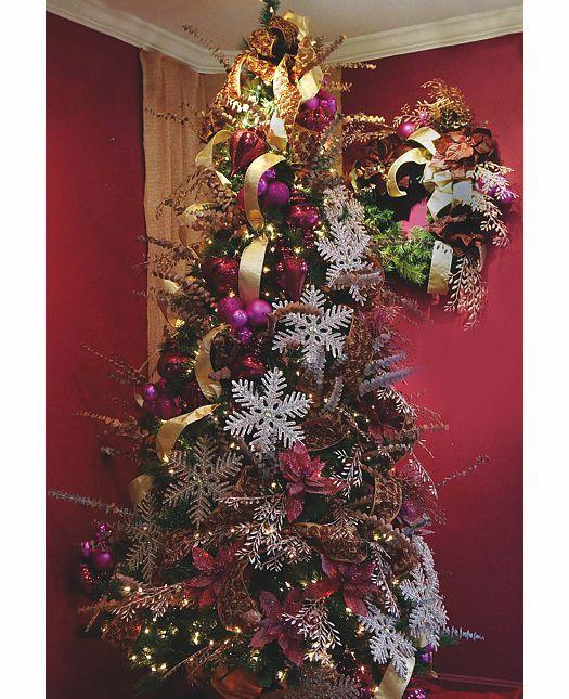 Victorian Rose Christmas Tree Ideas Christmas Decorations Christmas Decorations Wholesale Christmas