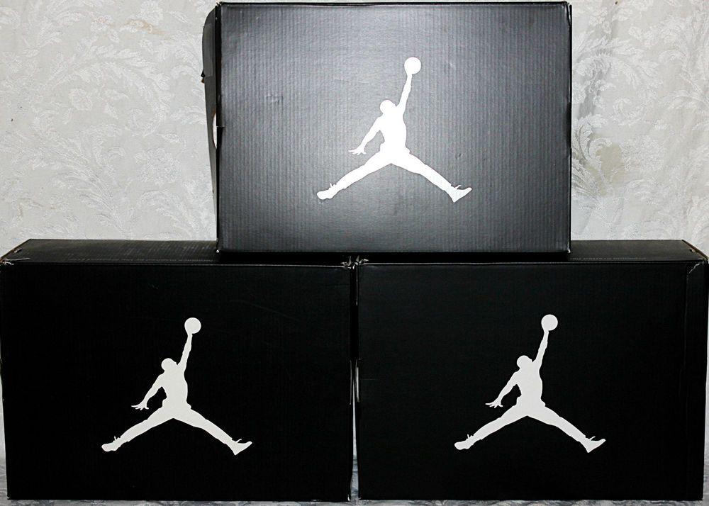 AIR JORDAN 3 EMPTY BOXES Empty JORDANS Shoe Boxes Lot of 3 #Jordan  #BasketballShoes