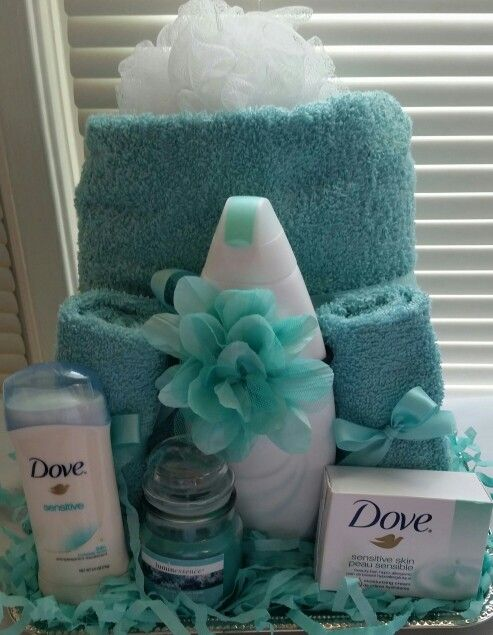 Dove Gift Basket For Her 35