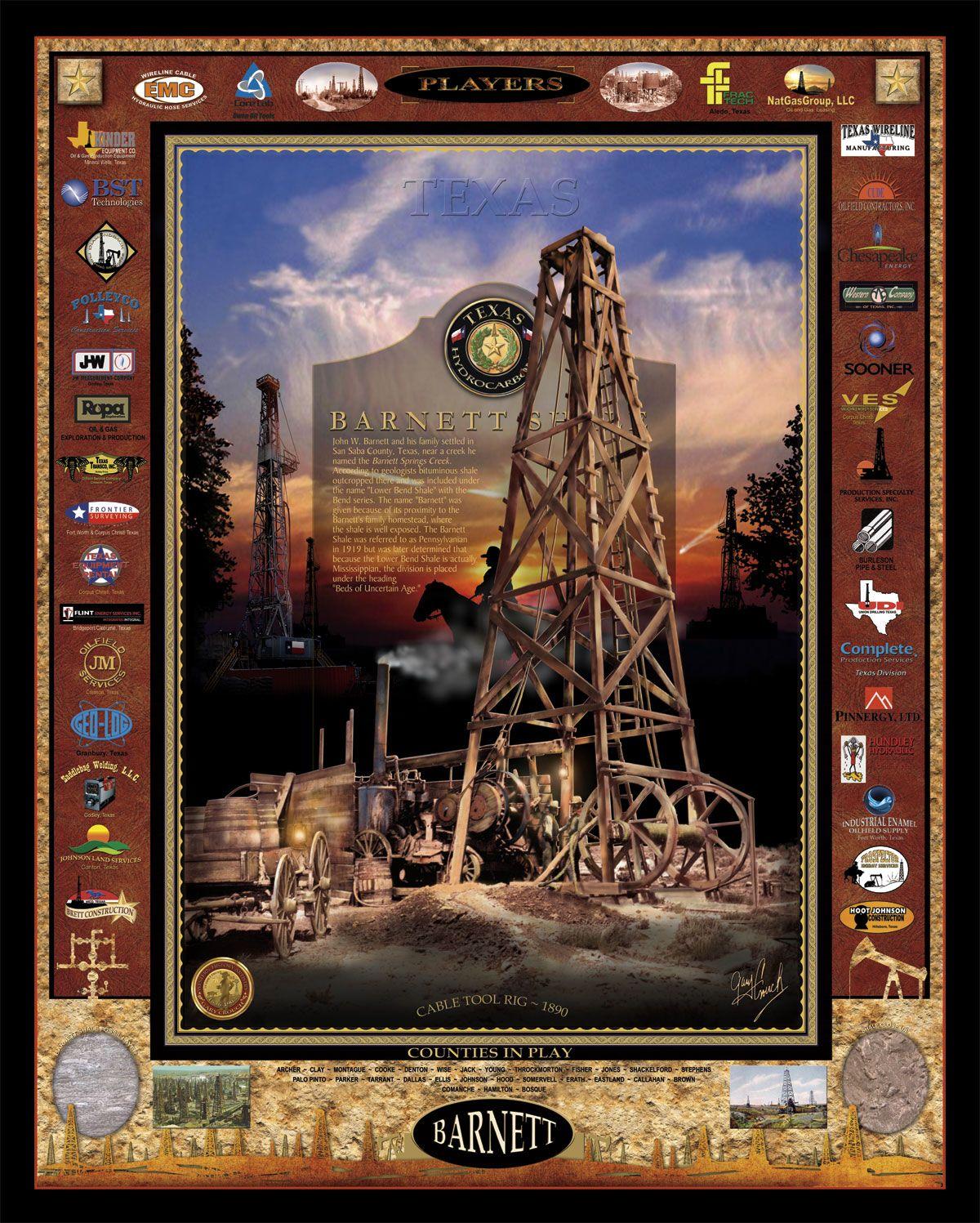 BARNETT | Travel Old America | Oil, gas, Art, Republic of texas