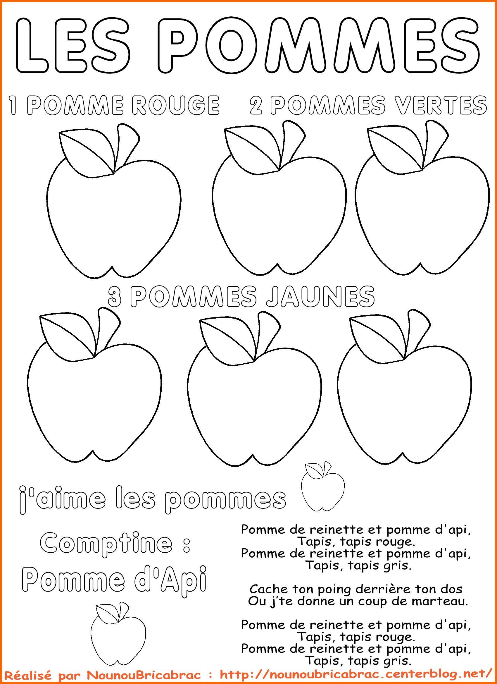 Fabulous Découvrir les POMMES | La pomme | Pinterest | Apples, French  GJ37