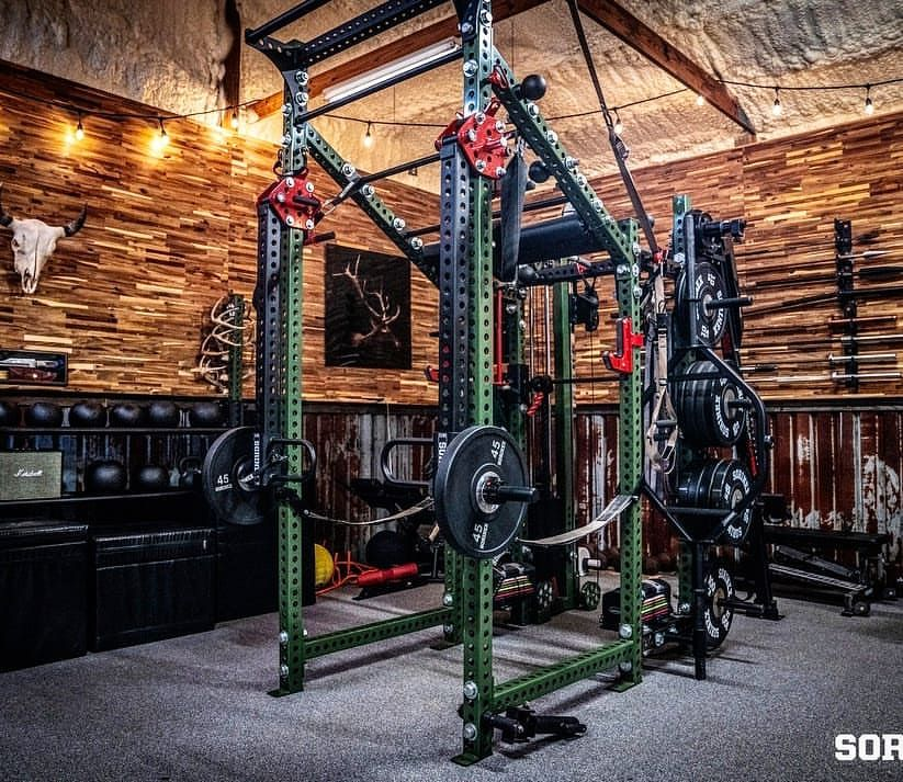 This is one of the best garage gyms i ve ever seen it