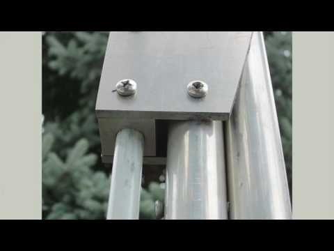 12) Retractable Anchor Pole: a Home Made Manual Power Pole