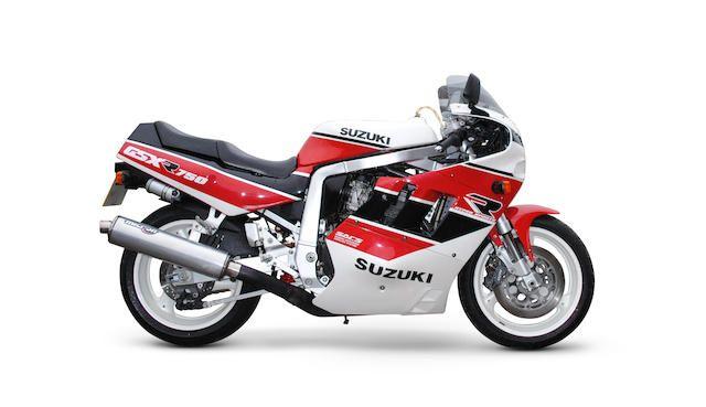1990 Suzuki GSX-R750L 'Slingshot' Frame no. GR7AAXXXXXX100720 Engine no. R716101055