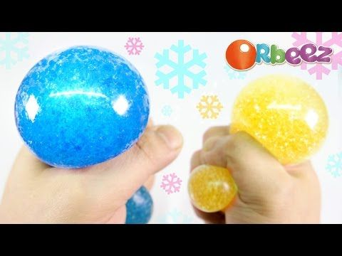 Diy Orbeez Crush Stress Ball Slush Squishy Stretchy Ball Youtube