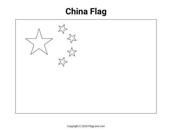 Free Printable China Flag Coloring Page Download It At Https Flaglane Com Coloring Page Chinese Flag China Flag Flag Coloring Pages Flag Printable
