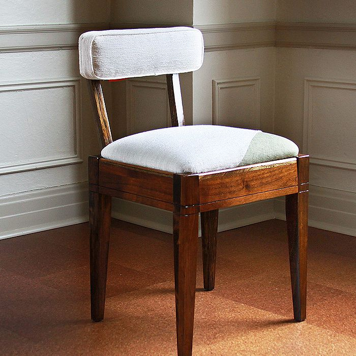 upcycled 1950's sewing chair by civilized | sewing furniture
