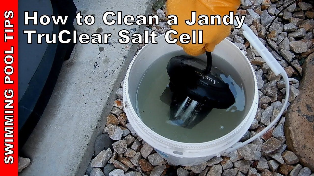 how to clean salt cell jandy