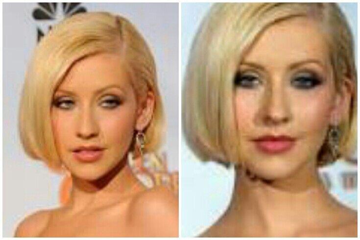 Christina Aguilera Short Bob