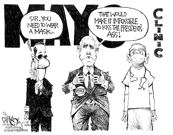 Muckmaker™ on Twitter in 2020 Funny cartoons, Pence