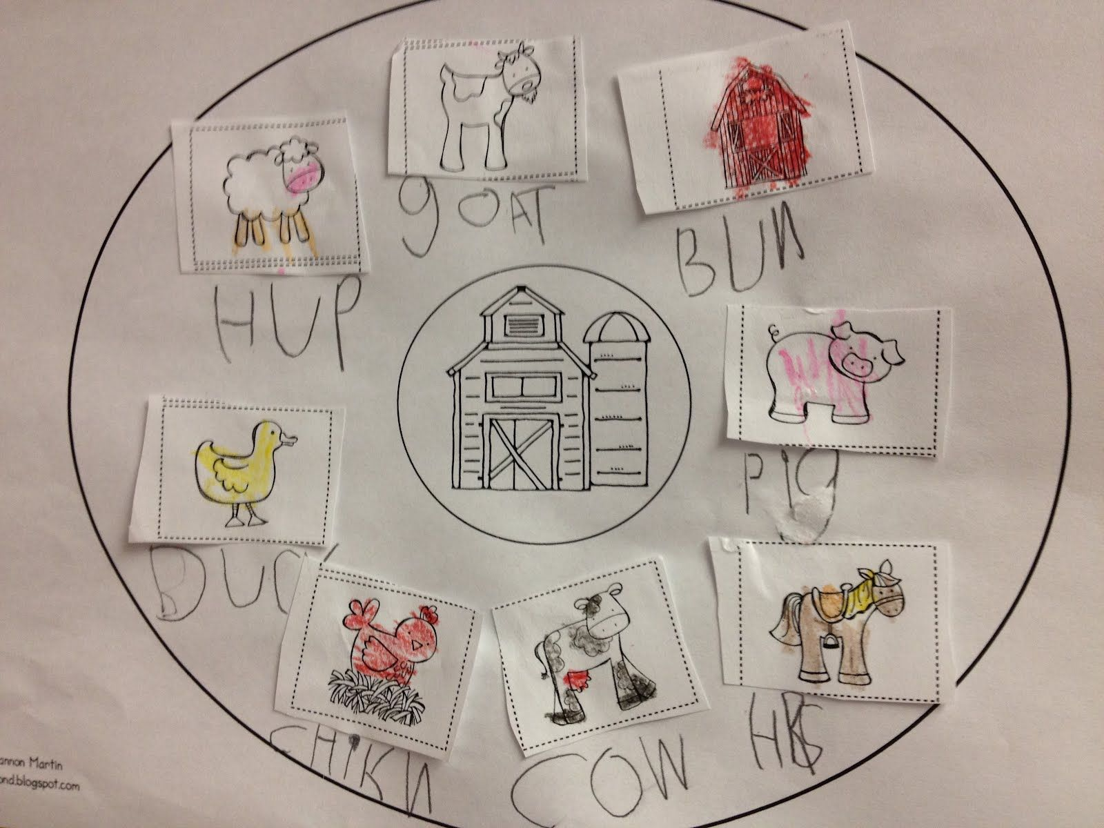 Circle Maps Kindergarten