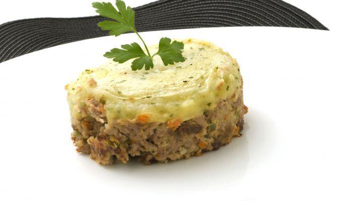 Receta De Pastel De Carne Con Pasas Y Puré De Patata Karlos Arguiñano Pastel De Carne Receta Pastel De Carne Recetas Con Carne