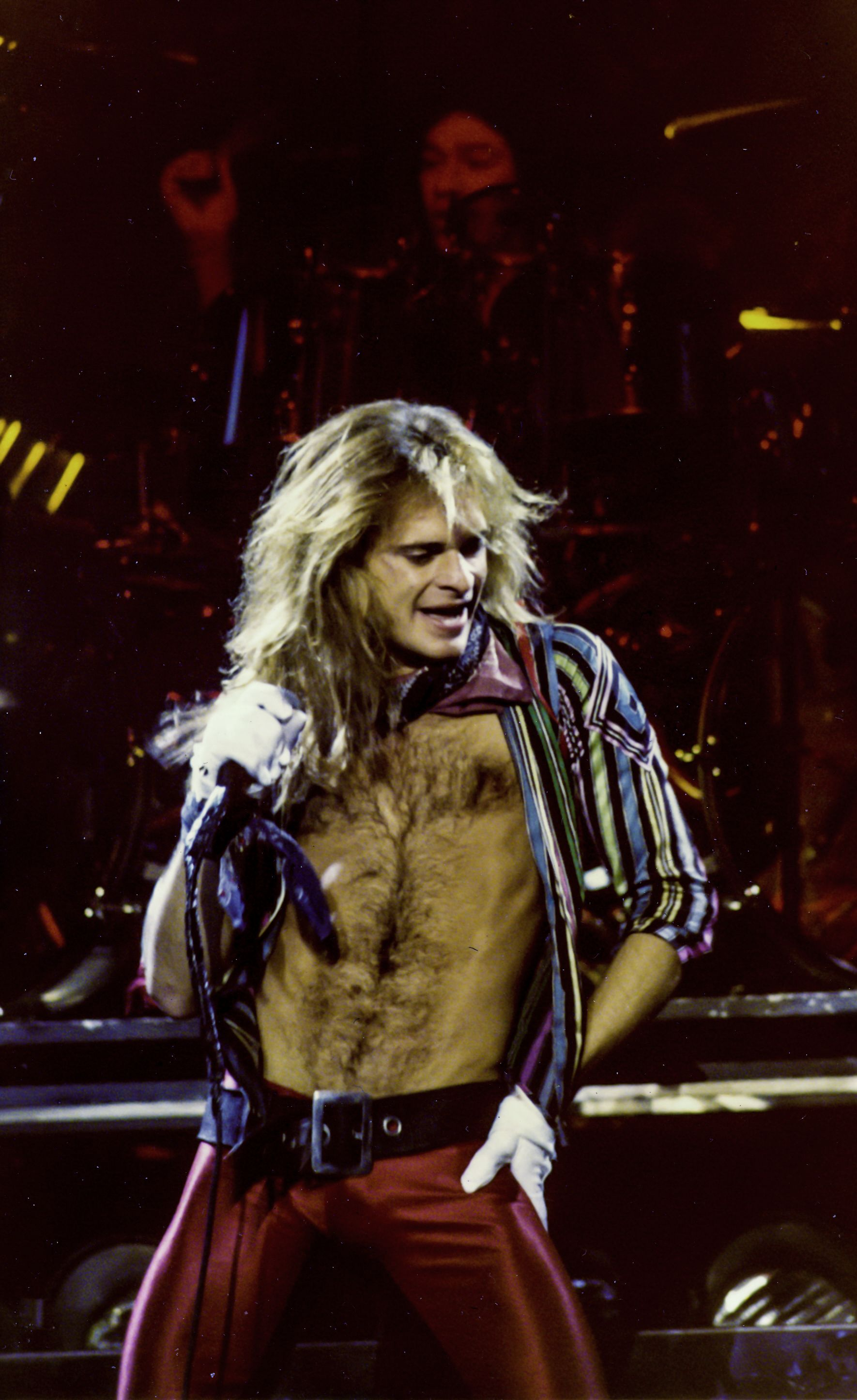 David Lee Roth Van Halen Jacksonville Civic Auditorium First Tour Van Halen David Lee Roth David Lee