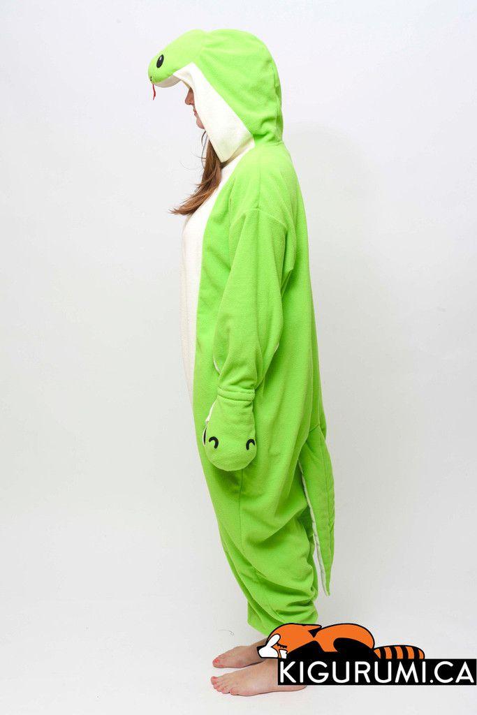 aa546d06175f Snake Onesie Kigurumi Animal Costume Adult Pajamas