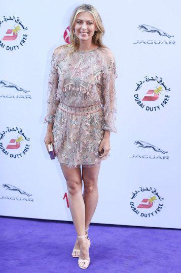 Maria Sharapopva Attend Wimbledon Party At Kensington Roof Gardens Wta Sharapova Wimbledon Maria Sharapova Masha