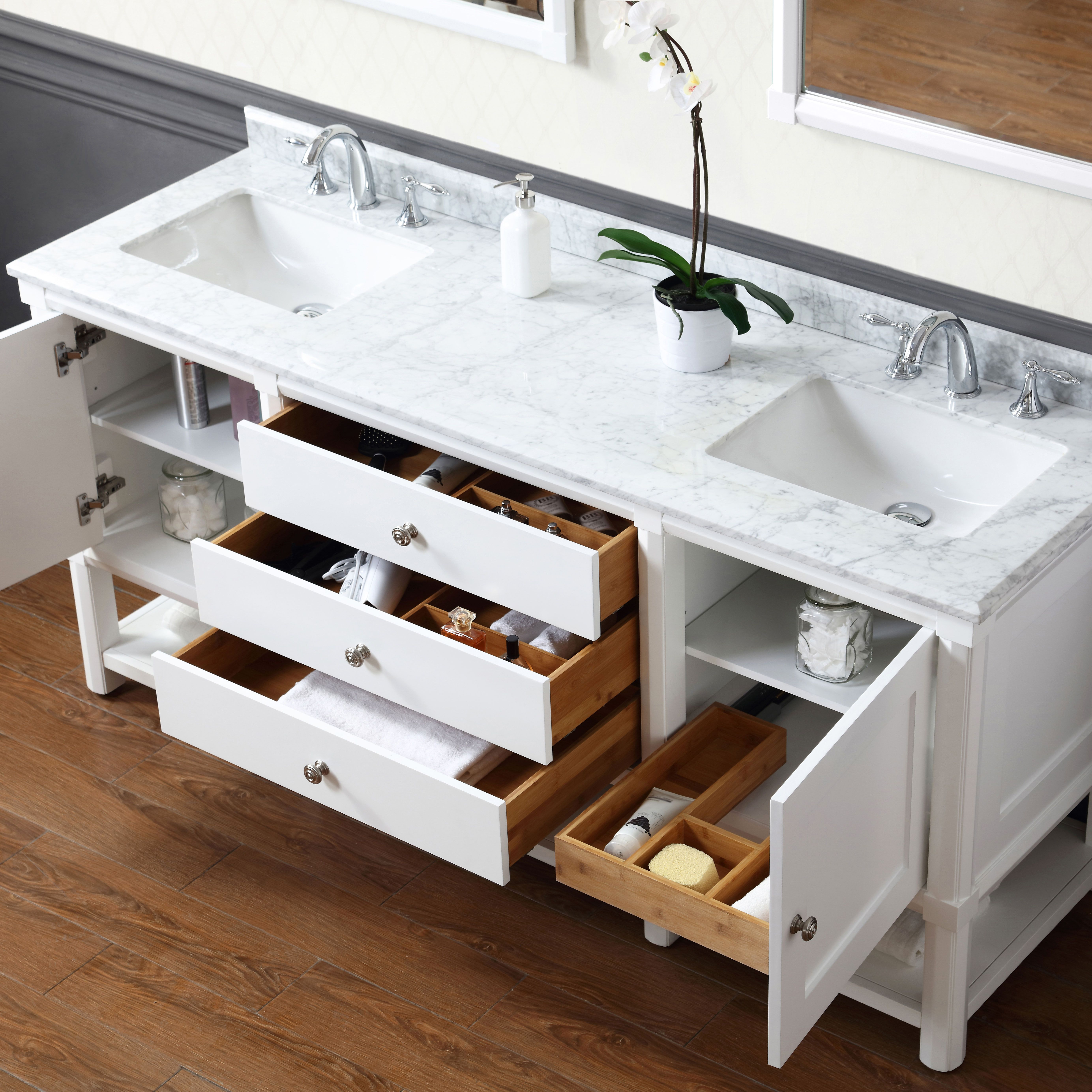 These Bath Vanities Deliver on Storage and Style in 2020 ...