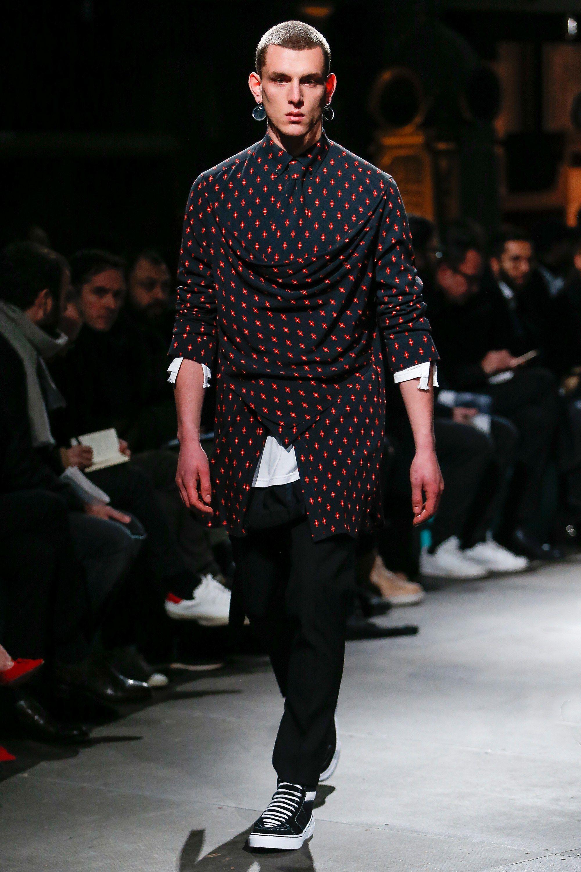 Givenchy Fall 2017 Menswear Fashion Show Стили мужской
