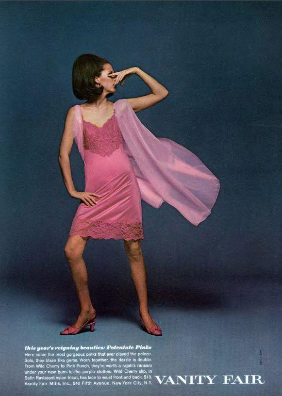 Vintage Vanity Fair Pink Slip Ad Vanity Fair Has Always