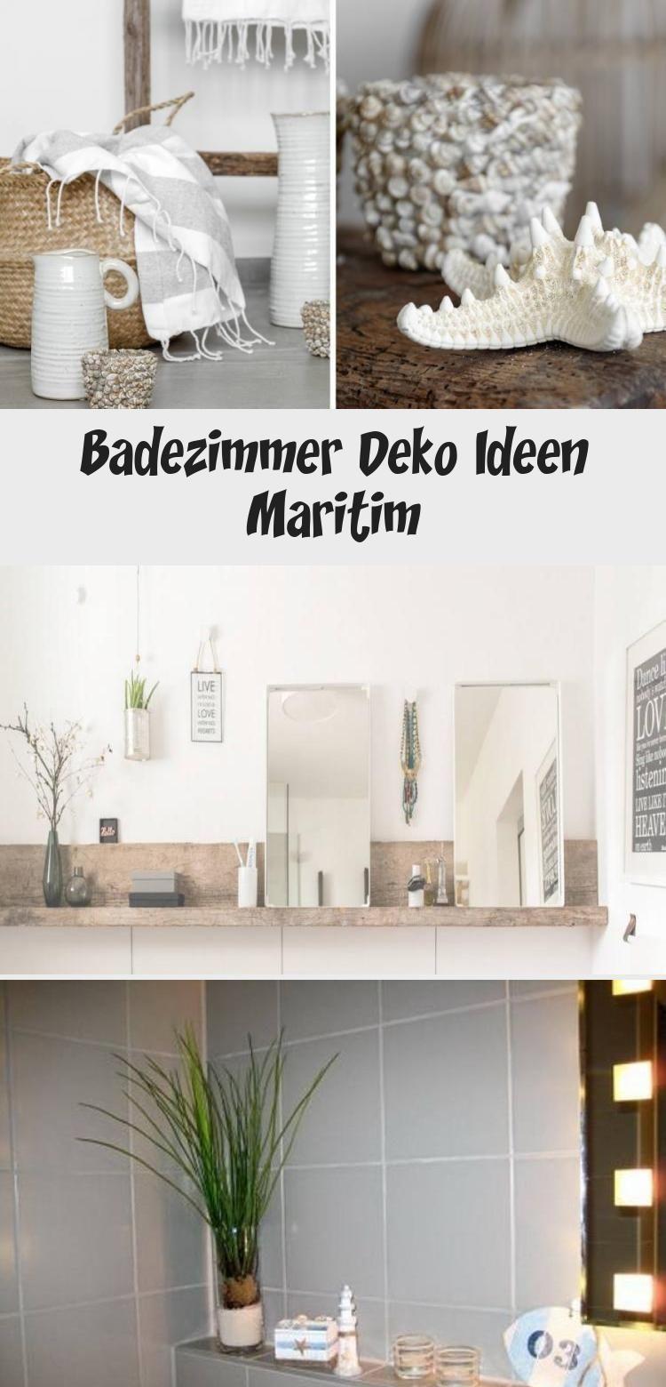 Badezimmer Deko Ideen Maritim