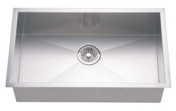 Dawn 33 Stainless Steel Undermount Kitchen Sink Single Bowl With