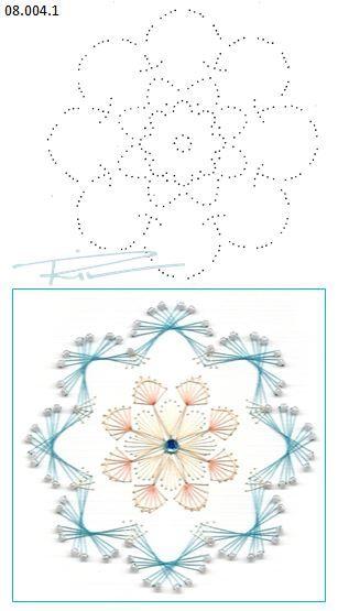 Rit Vanschoonbeek 08.004.1 borduren op papier